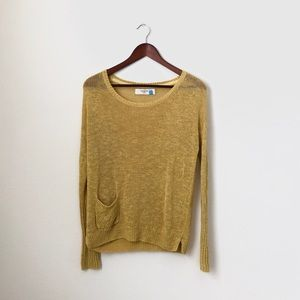 Sparrow•Sunflower Yellow Knitted Sweater